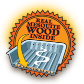 Real Mesquite Wood Inside